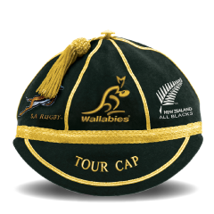 albion rugby tour caps